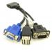 416003-001 I/O Cable USB VGA Serial for Blade config +$79.00