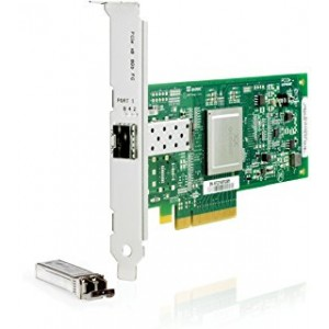 AH400A HP PCIe 1 Port 8GB Fiberchannel SR Qlogic HBA PCI-e  489190-001