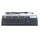 HP/Island Keyboard USB Black