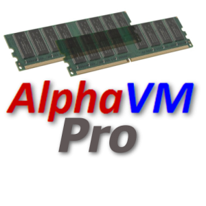 AlphaVM-Pro Alpha 1GB Extra Virtual Memory - 1GB Incremental