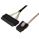 IC-MLS-MS-1M Multi-Lane to Mini-SAS Internal Cable for AM312A P812 to HP integrity rx2660 SAS Disk Backplane